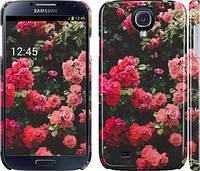 """Чехол на Samsung Galaxy S4 i9500 Куст с розами """"2729m-13"""""""