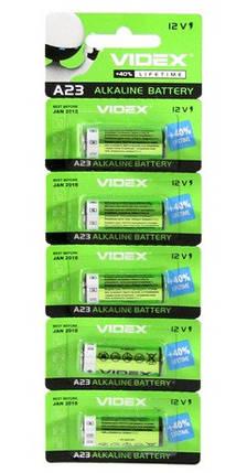 Батарейки  Videx Батарейка щелочная А23 12V, фото 2