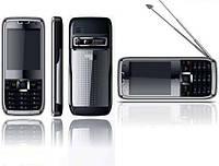 Мобильный китайский телефон Nokia E71, 3 sim, Tv, Java, Fm, фото 1