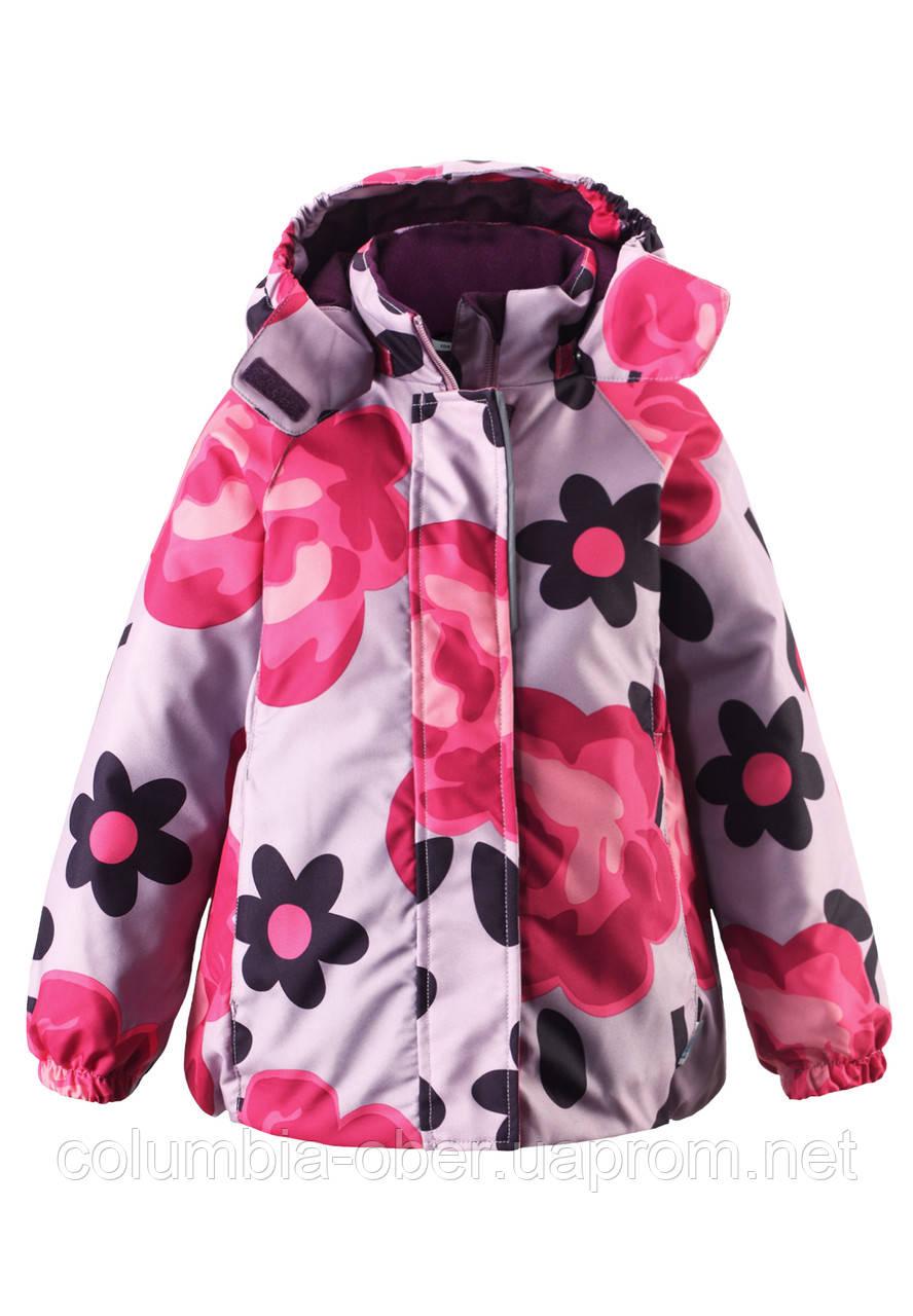 Зимняя куртка для девочек Lassie by Reima 721694 - 5121. Размеры 104 - 128.