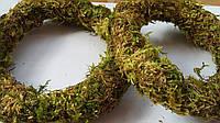 Венок из мха ( d=8-12 см) (16\12) (цена за 1 шт. + 4 гр.)
