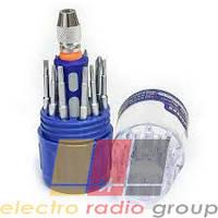 Набор инструментов  BAKKU  BK-312 (Ручка+12насадок)