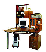 Компьютерный стол недорого с полочками на заказ