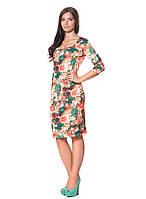 Изысканное женское платье с рукавом ¾