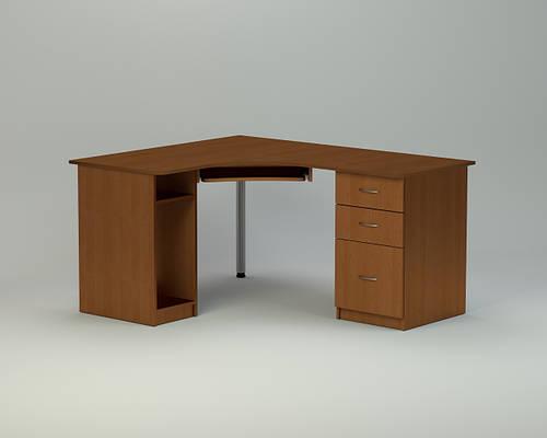 Угловой компьютерный стол с ящиками СУ - 9