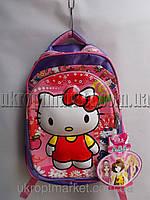 Рюкзак школьный на девочку (29х40 см)  Kitty