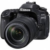1263C040 Цифр. фотокамера зеркальная Canon EOS 80D + объектив 18-135 IS nano USM, 1263C040