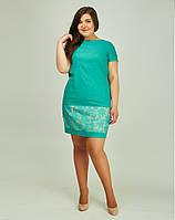 Модное женское платье из льна