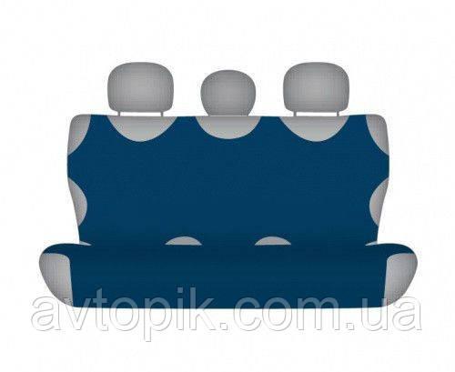 elegant Майки на сиденье автомобиля Elegant задние темно-синие V-21437