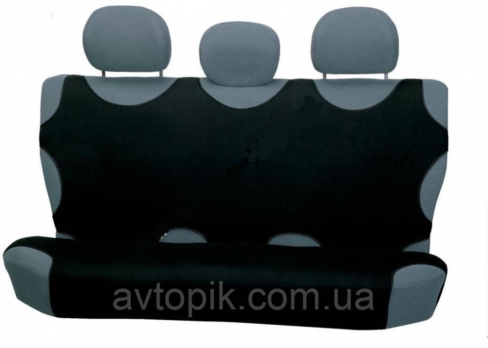 elegant Майки на сиденье автомобиля Elegant задние черные V-21467