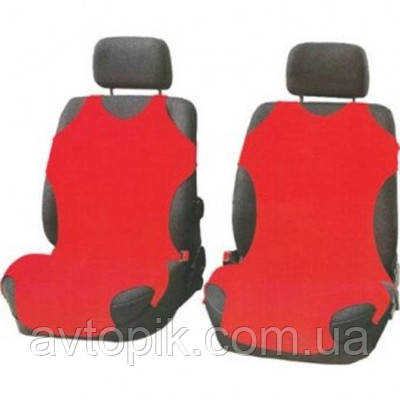 elegant Майки на сиденье автомобиля Elegant передние красные V-21481