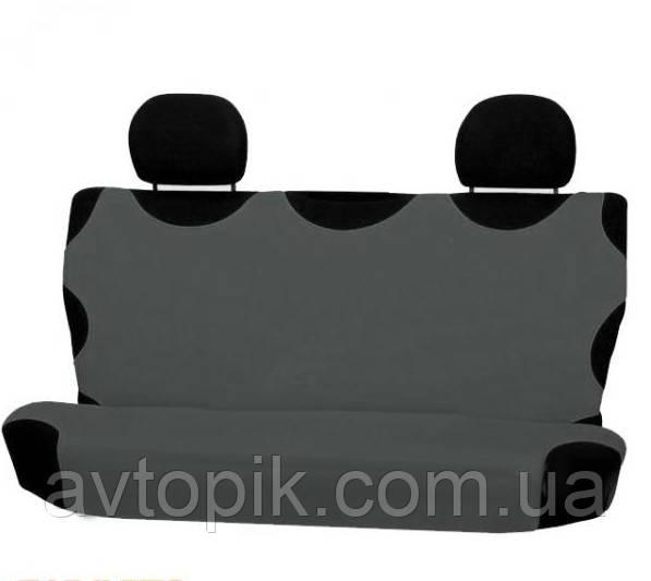 elegant Майки на сиденье автомобиля Elegant задние темно-серые V-21447