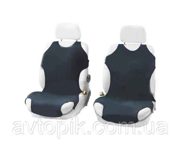 elegant Майки на сиденье автомобиля Elegant передние темно-серые V-21479