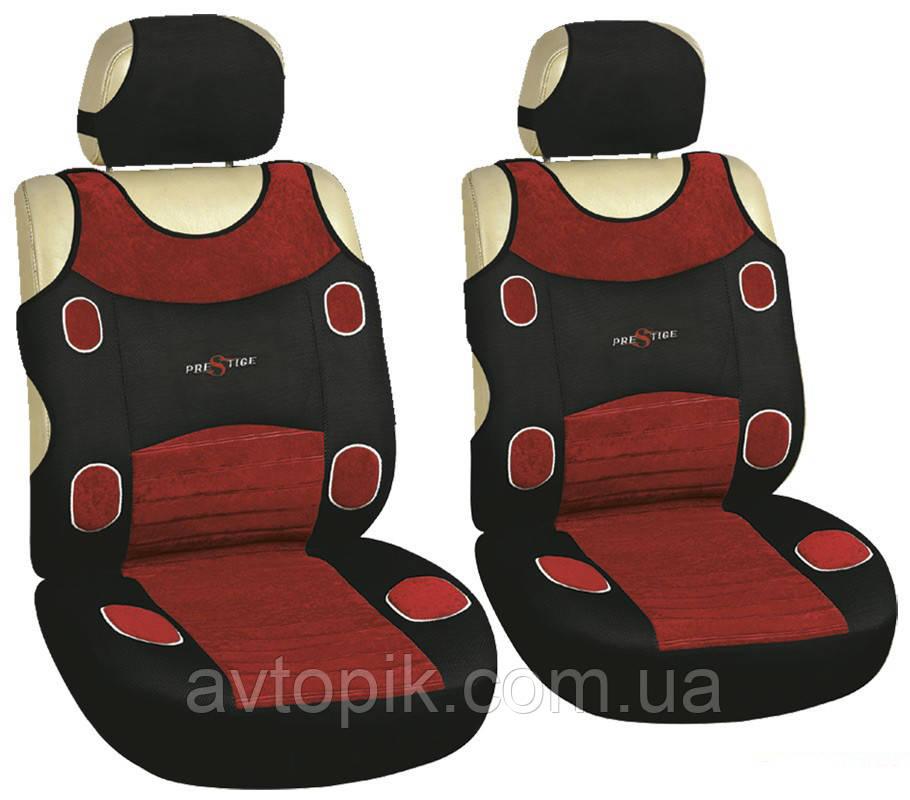 milex Майки на сиденье автомобиля Milex Prestige передние красный (2 шт.) V-23555