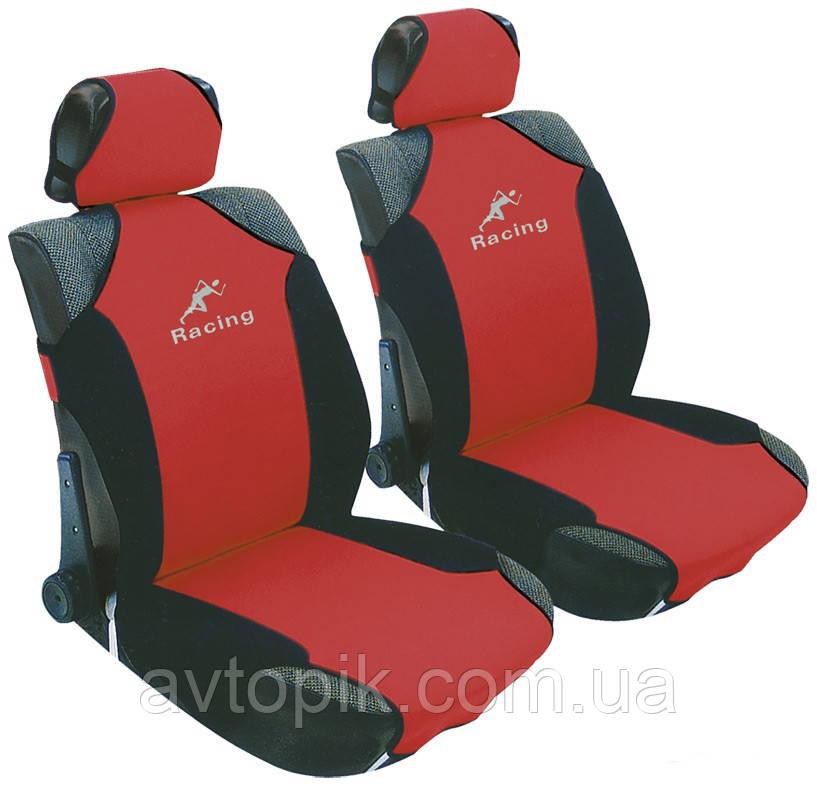milex Майки на сиденье автомобиля Milex Racing красный (3 шт.) V-23050