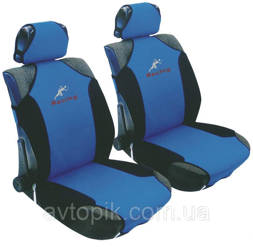 milex Майки на сиденье автомобиля Milex Racing синий (3 шт.) V-23047