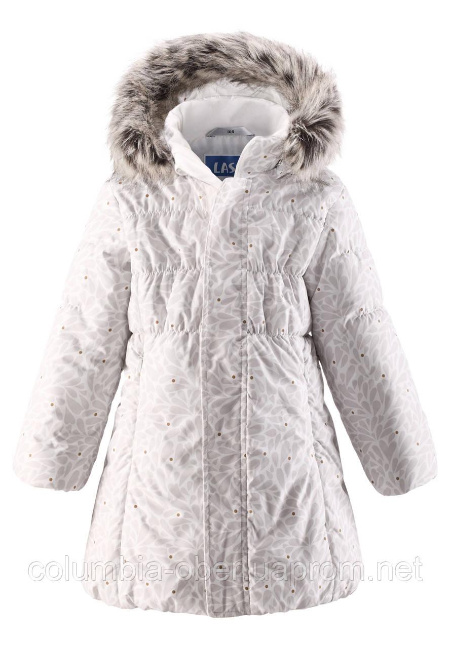 Зимнее пальто для девочки Lassie by Reima 721698 - 0111. Размеры 92 - 110.