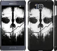 "Чехол на Samsung Galaxy Alpha G850F Call of Duty череп ""150m-65"""