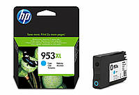 Картридж HP No.953XL Officejet Pro 8210/8710/8720/8725/8730 Cyan (1600 стр), F6U16AE