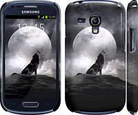 "Чехол на Samsung Galaxy S3 mini Воющий волк ""934m-31"""
