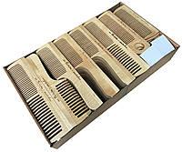 Расчески деревянные для волос ИЗ СИБИРИ С ЛЮБОВЬЮ (80шт/уп)