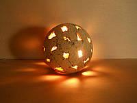 """Керамический светильник """"Шар-1"""""""