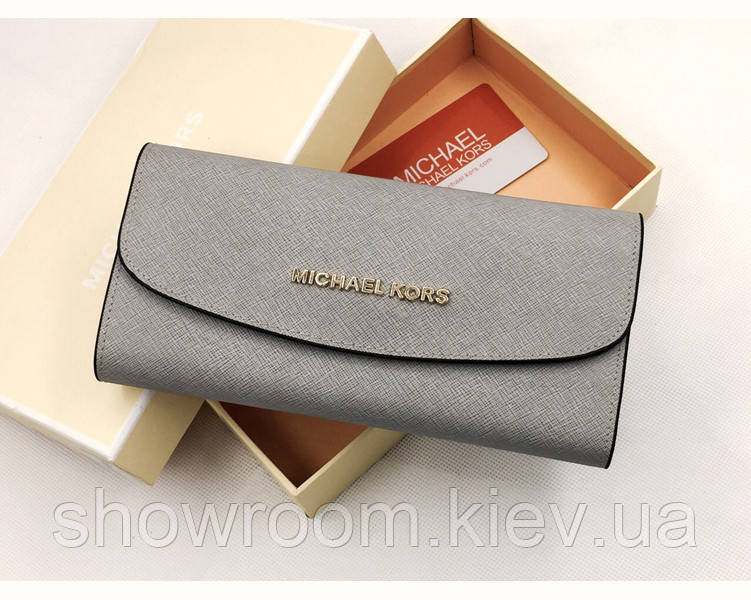 Женский кошелек в стиле Michael Kors (3331) grey