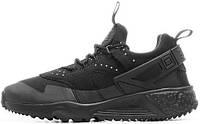 Мужские кроссовки Nike Air Huarache Utility Black, найк хуарачи