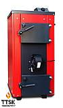 Экономичный пиролизный твердотопливный котел КОТэко UTA (Юта) 15 кВт, фото 2