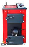 Экономичный пиролизный твердотопливный котел КОТэко UTA (Юта) 15 кВт, фото 3