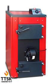 Экономичный пиролизный твердотопливный котел КОТэко UTA (Юта) 20 кВт