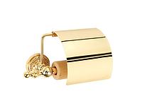 Держатель для туалетной бумаги KUGU Eldorado 811G (латунь, золото)(Бесплатная доставка Новой почтой)