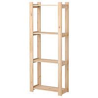 IKEA АЛЬБЕРТ Стеллаж, сосна хвойное дерево : 00111994, 001.119.94