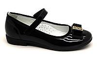 Туфли- лодочки кожаные  для девочки ТМ FS collection. Размер 27-35