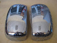 Хром накладки на Fiat Doblo 2001+ накладки на зеркала пластиковые