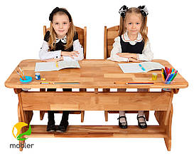Комплект парта растишка Mobler p112-1 и стул с300