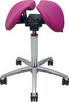 Salli Twin Эргономичный стул седло c ортопедическим эффектом (кожа), фото 1