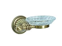 Мыльница KUGU Hestia antique 907A (латунь, бронза, стекло)(Бесплатная доставка Новой почтой)