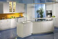 Кухня на заказ BLUM-018 краска по RAL каталогу