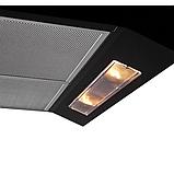 Pyramida GH 20-60 Slim black (600 мм) плоска плита, витяжка, чорна емаль, фото 2