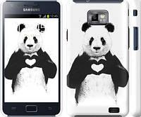 "Чехол на Samsung Galaxy S2 Plus i9105 All you need is love ""2732m-71"""