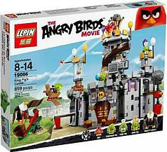 "Конструктор Lepin Angry Birds ""Замок Короля свинок"" аот.19006 (аналог LEGO 75826), 859 дет."