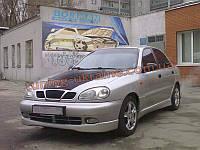 Юбка передняя на Chevrolet Lanos Хэтчбек
