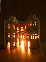 """Керамический светильник """"Книга дом-1"""""""