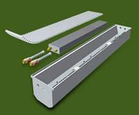 Конвектори  підлогові з тангенціальним вентиляторами КПТ 160.