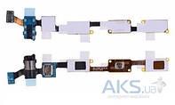 Шлейф для Samsung J700H Galaxy J7 с разъемом гарнитуры, микрофоном и кнопкой Home