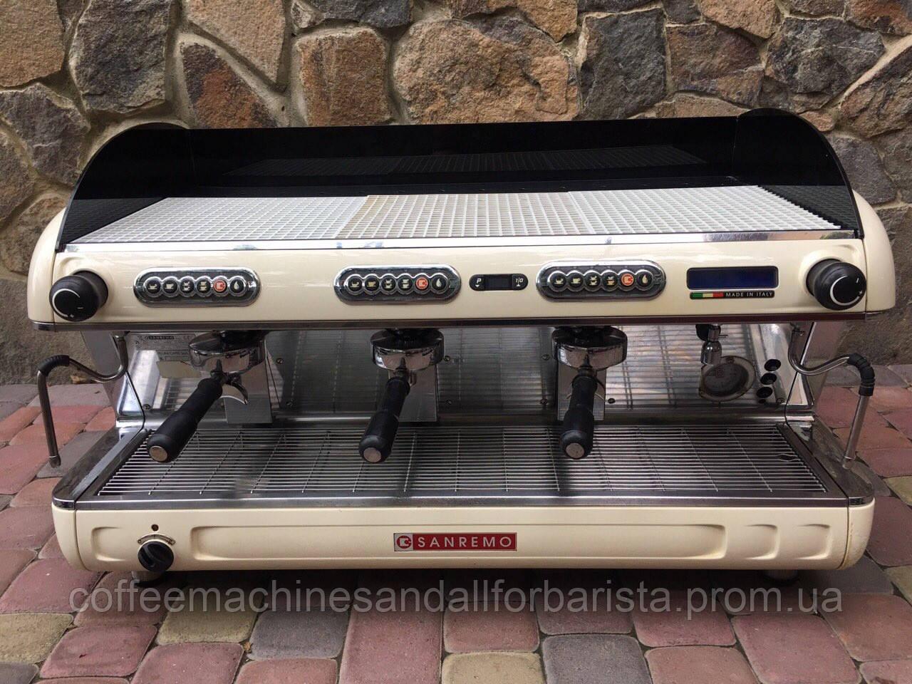 Кофемашина  Sanremo Verona (3группы мультибойлерная)