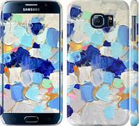 """Чехол на Samsung Galaxy S6 G920 Холст с красками """"2746c-80"""""""