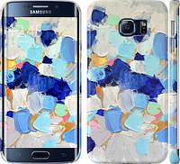 """Чехол на Samsung Galaxy S6 Edge G925F Холст с красками """"2746c-83"""""""