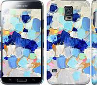 "Чехол на Samsung Galaxy S5 Duos SM G900FD Холст с красками ""2746c-62"""